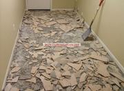 Ceramic Tile Removal same Day Clean Up & Hauling