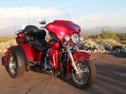 2013 - Harley-davidson TriGlide Trike Sunglow Red