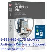 1-888-985-8273 McAfee Antivirus Customer Support Phone Number