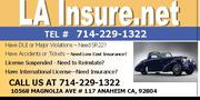 California Cheap SR22 Insurance,  SR 22 Filing,  SR 22 Quotes,  DUI Insur