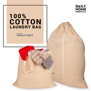 Shop Hanging cotton canvas laundry bag Online USA | Samy's Mart Amazon