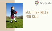 Traditional Kids Scottish Kilts For Sale in the USA